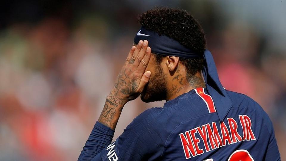 File image of PSG footballer Neymar.