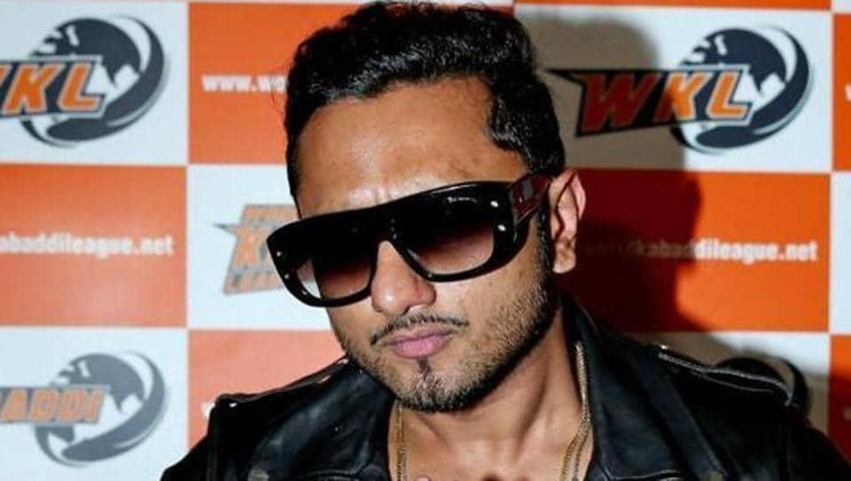 Rapper Honey Singh booked for lewd lyrics