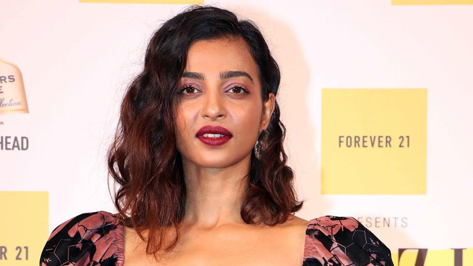 Bollywood actor Radhika Apte attends the first edition of the Grazia Millennial Awards in Mumbai on June 19, 2019.