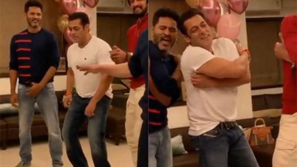 Salman Khan,Prabhudheva,Urvasi Urvasi
