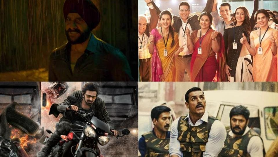 Sacred Games will release on Netflix on Independence Day, and Mission Mangal, Saaho and Batla House are lined up for release in theatres on the same day.