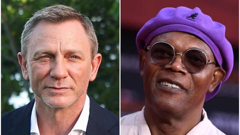 Samuel L. Jackson,Daniel Craig,Samuel L Jackson jokes about Daniel Craig