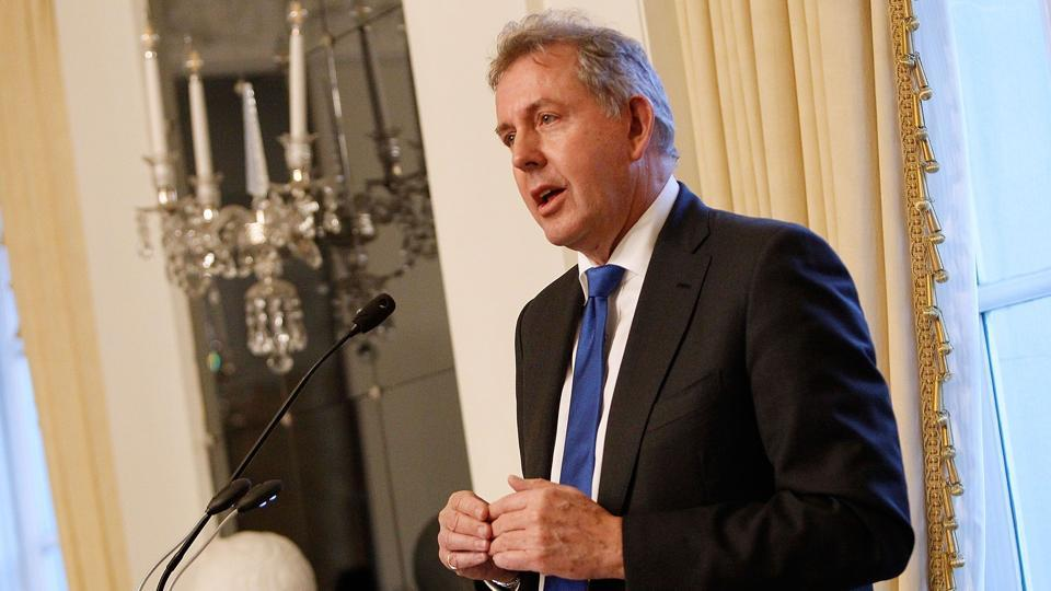 The UK Foreign Office says Britain's ambassador to the United States has resigned just days after diplomatic cables criticizing President Donald Trump were leaked.