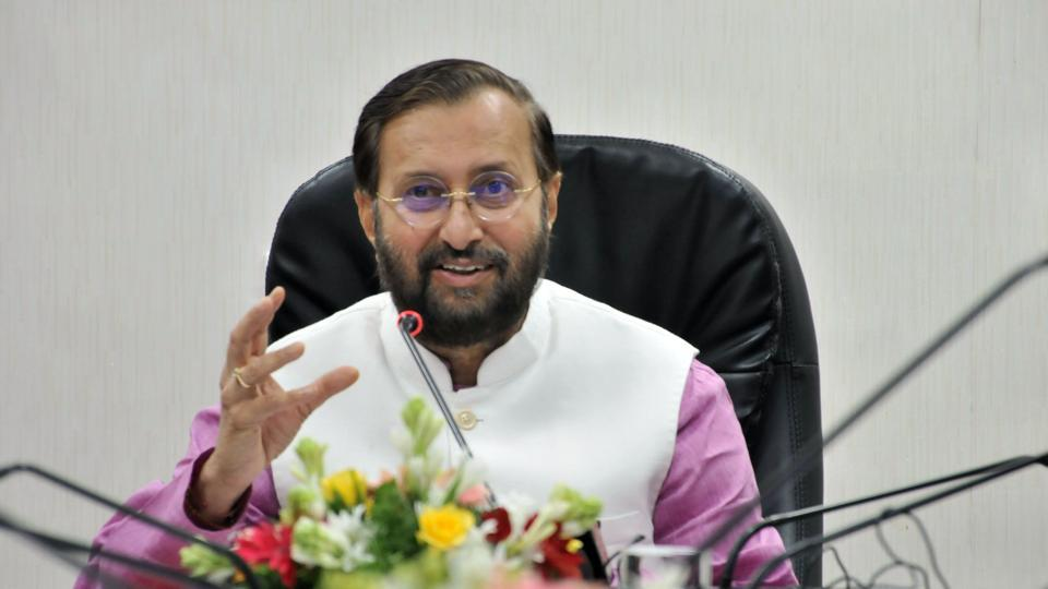 Union minister Prakash Javadekar briefed the media after the Union Cabinet meeting on Wednesday.