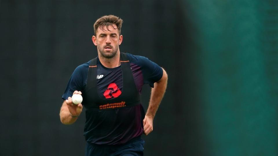 England's Liam Plunkett during nets
