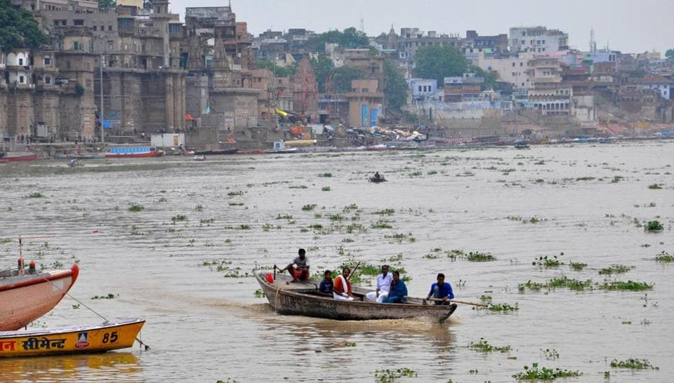 Varanasi district administration has decided to penalise those found dumping waste in river Ganga.