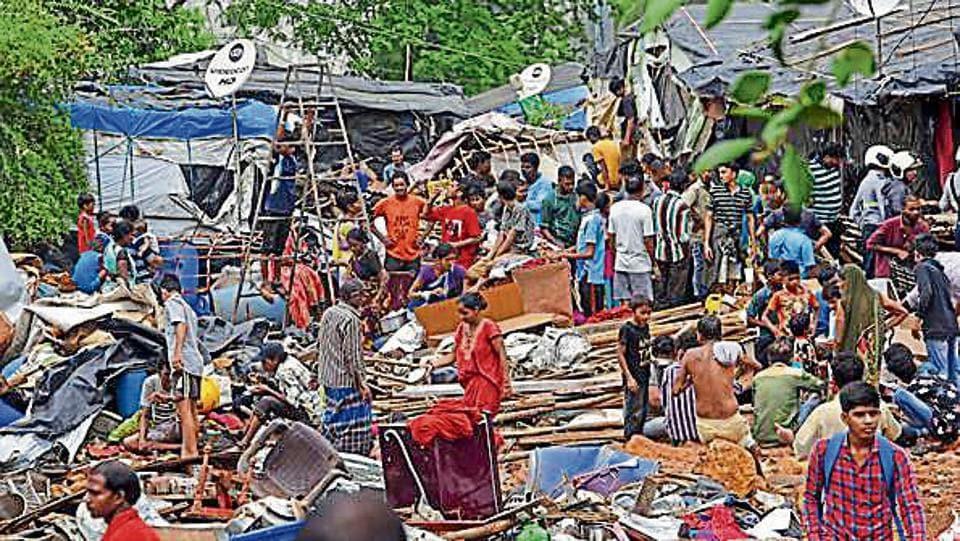 BMC,Mumbai civic body,Malad wall collapse