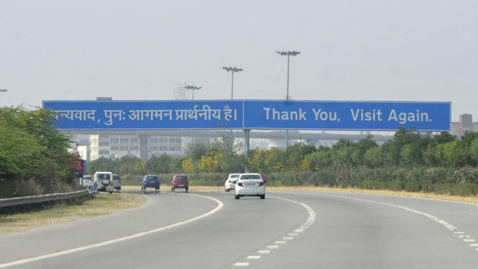 A view of traffic on the Yamuna Expressway in Greater Noida, on Monday, July 08, 2019.