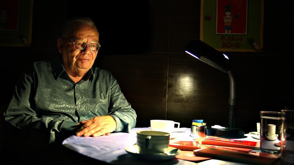 Author Ruskin Bond
