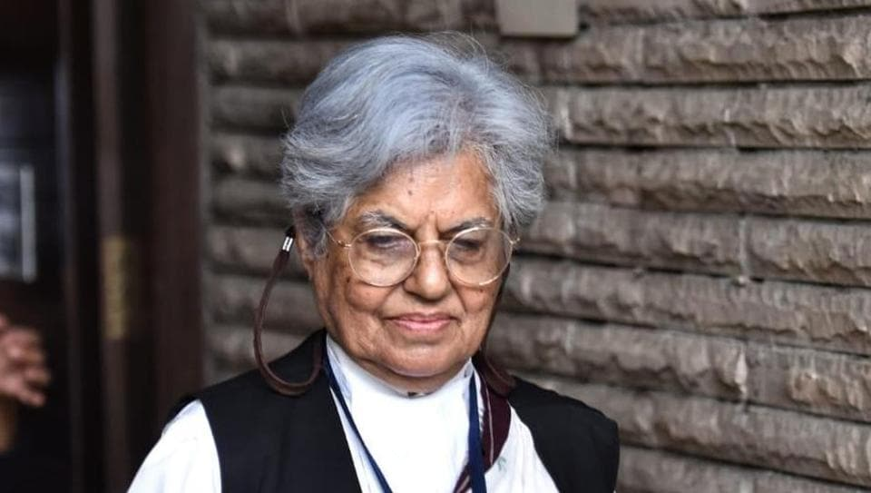 Supreme Court lawyer Indira Jaisingh in New Delhi on Thursday