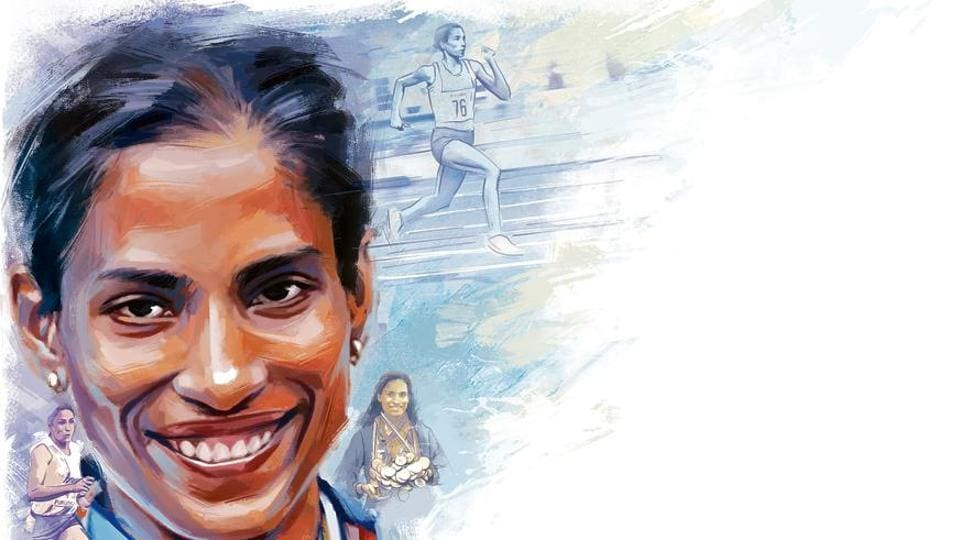 PTUsha's most glorious performance occurred at the 1984 Los Angeles Olympics, where she won the 400m hurdles heats.