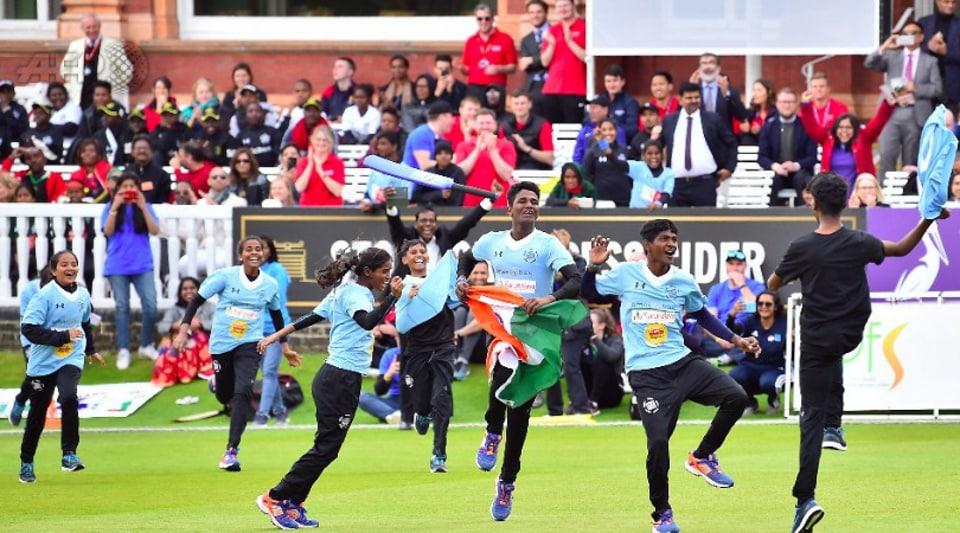 Street children,Cricket,ICC World Cup