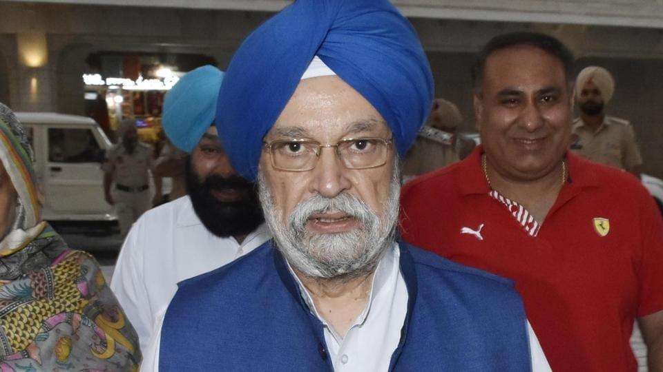 Hardeep Singh Puri,Lok Sabha,Air India