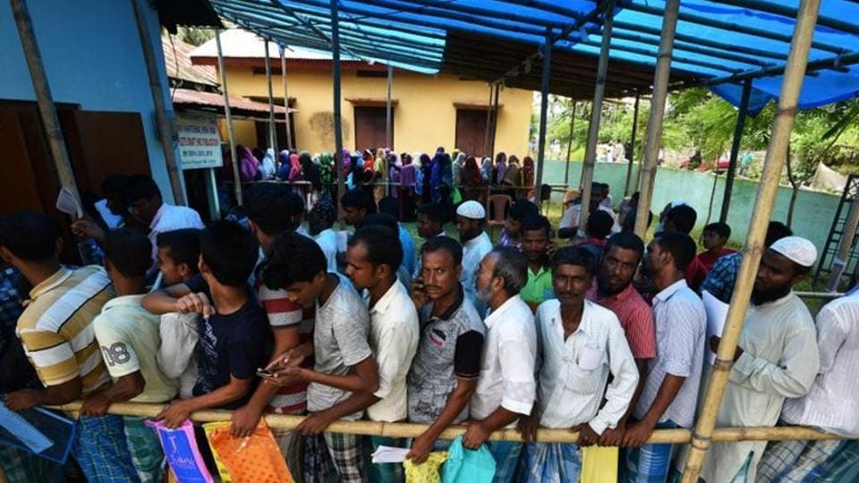 The Assam government has again filed an application in the Supreme Court seeking partial re-verification of the National Register of Citizens (NRC) draft list