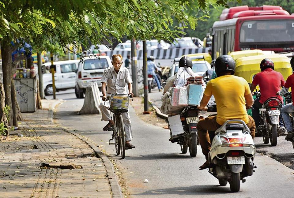 Encroachments push cyclists in harm's way