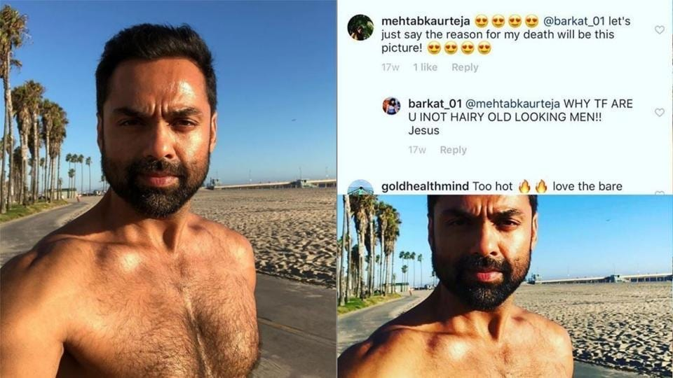 Troll calls Abhay Deol 'hairy, old man', the actor's hilarious reply wins over internet