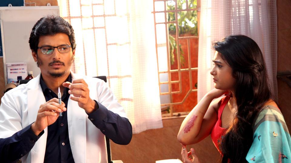 Gorilla stars Jiiva and Shalini Pandey in lead roles.