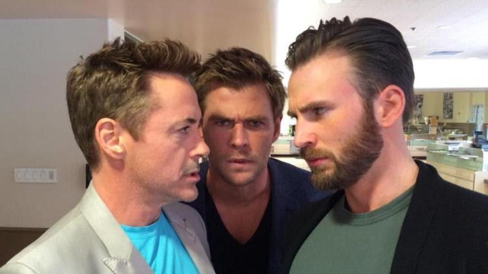 Robert Downey Jr, Chris Hemsworth and Chris Evans starred as Iron Man, Thor and Captain America in Avengers: Endgame.