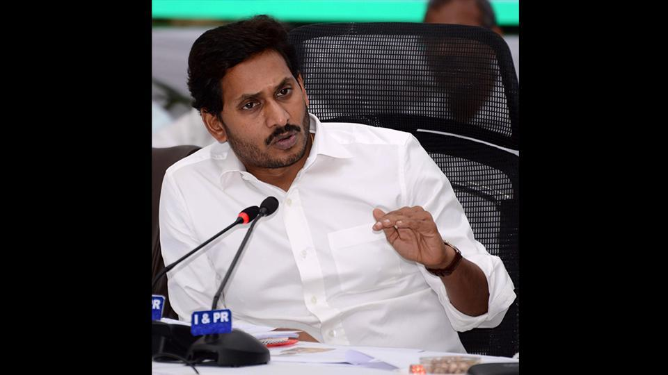 AAndhra Pradesh chief minister YS Jagan Mohan Reddy announced the setting up of a state calamity relief fund with Rs 2,000 crore to help farmers overcome the impact of severe drought conditions in the state. Reddy also announced the release of Rs 1 crore each to all the 175 MLAs in the state, irrespective of their political affiliation, to help them take measures to resolve the drinking water scarcity in their constituencies. (ANI)