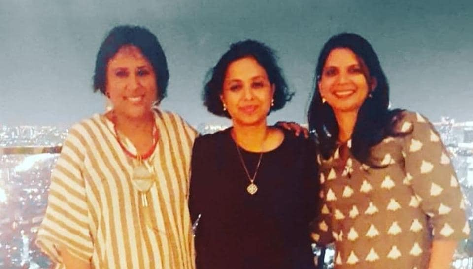Barkha Dutt, Suhasini Haider and Yamini Aiyar.