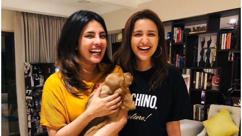 Parineeti Chopra and Priyanka Chopra are close friends too.