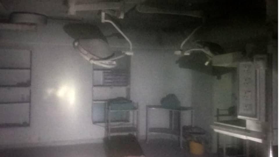 Fire,West Delhi,hospital