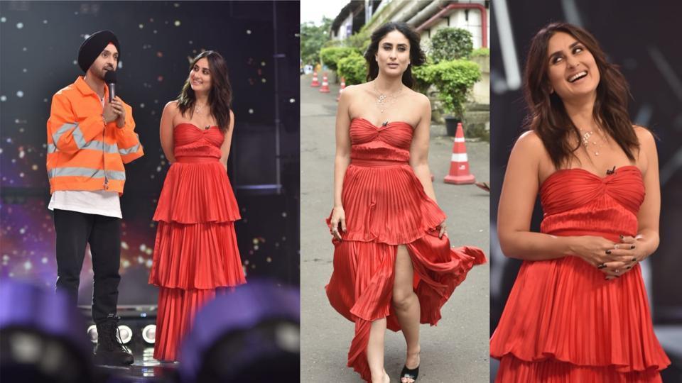 Kareena Kapoor on sets of Dance India Dance.