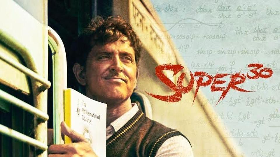 Hrithik Roshan's performance in Super 30 is being praised by many Bollywood celebrities.