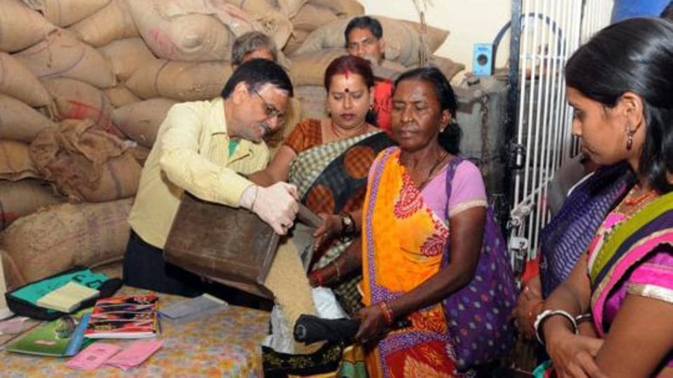 According to the minister, the government is linking all ration cards across the country with Aadhaar cards and all states would be switching to grain distribution through point-of-sale (PoS) machines.