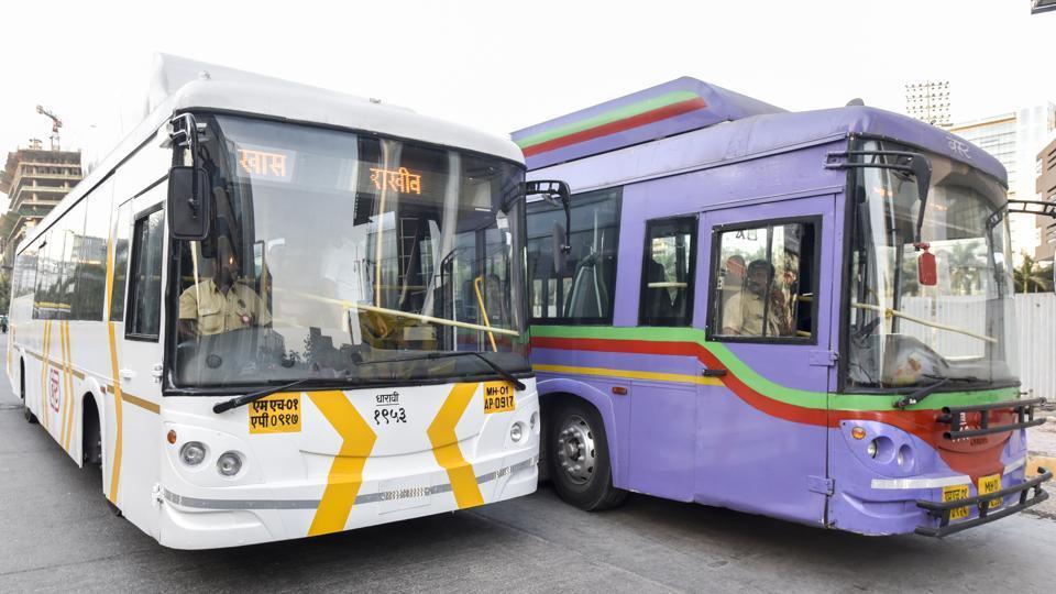 BEST buses,BEST AC buses,mumbai buses