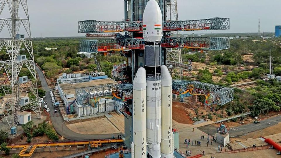 Indian Space Research Organisation (ISRO) is set to launch its second unmanned mission Chandrayaan-2 early on Monday.