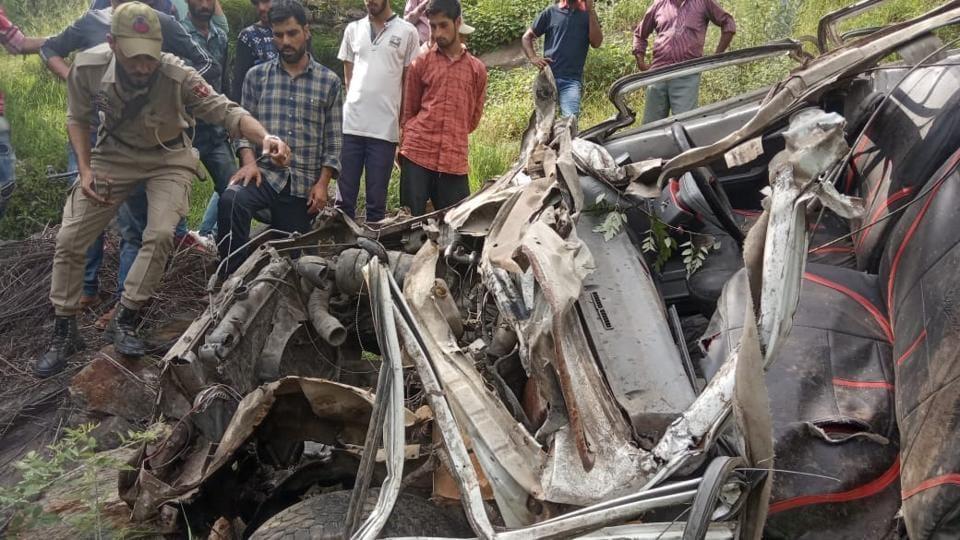 Jammu & Kashmir,Road accident,Ramban