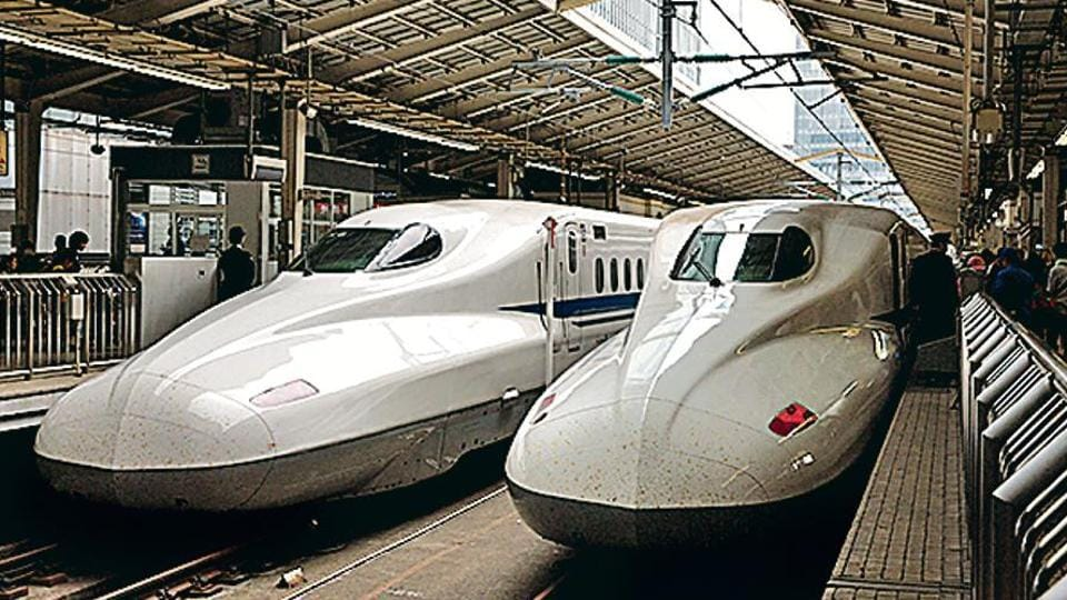 Like the Shatabdi trains,bullet train coaches will have overhead bins for storing hand baggage. (Getty images)