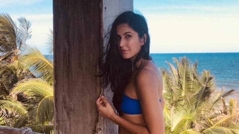 Katrina Kaif poses in blue swimsuit and her fans fall in love all over again. See pic