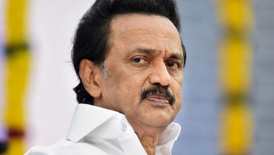 "Dravida Munnetra Kazhagam president MK Stalin said, ""The BJP government should not deprive the people of non-Hindi speaking states from getting central government employment."