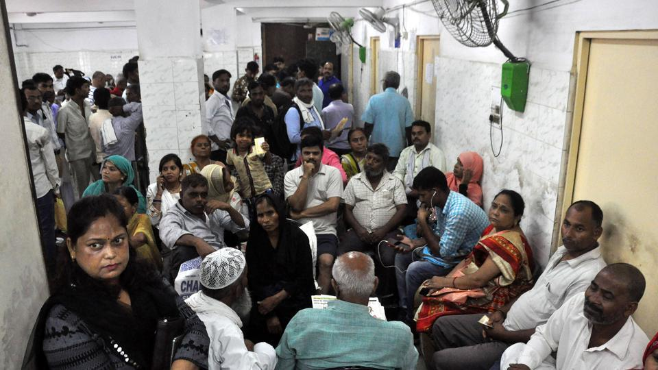 Patients suffer as resident Doctors boycotted work after attendants entered into scuffle with them [ doctors ] at Lari, KGMU, Lucknow, Uttar Pradesh on Saturday.