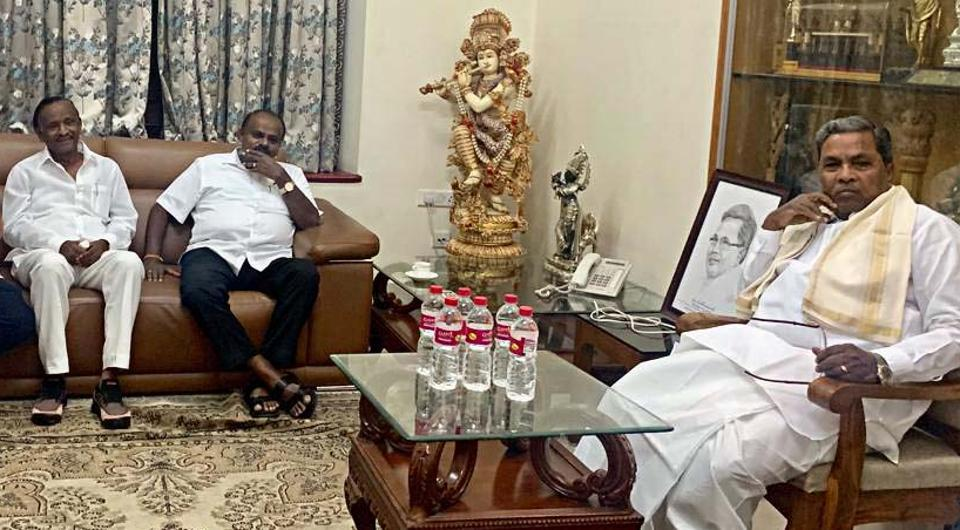 Siddaramaiah has called for the MLAs meet in his capacity as the leader of the Congress legislature party.