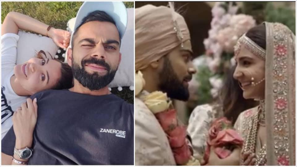 Anushka Sharma and Virat Kohli got married in December 2017.