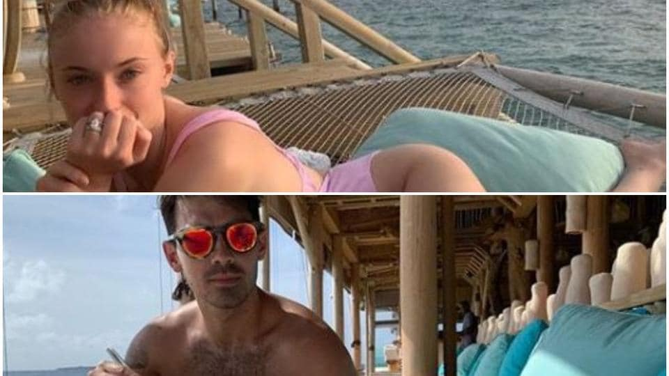 Sophie Turner and Joe Jonas are in Maldives for their honeymoon.