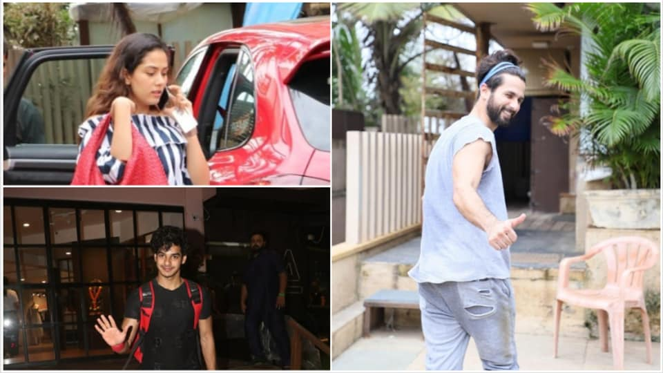 Have you seen these latest pics of Shahid Kapoor, Mira Rajput and Ishaan Khatter?