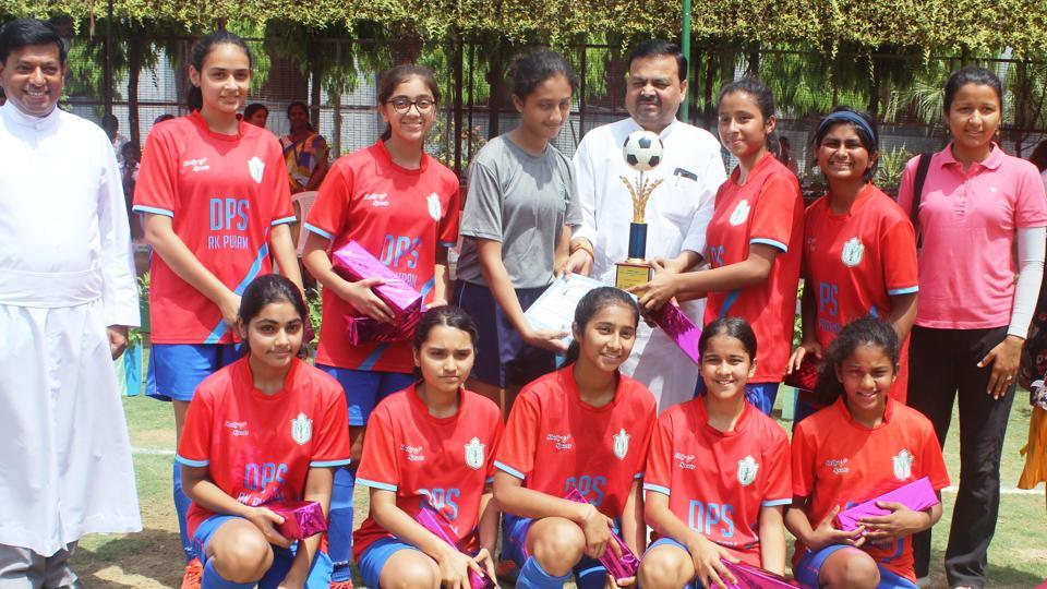 Pawan Kumar Sharma, MLA, praised the principal and headmistresses for instilling a love of sports in students