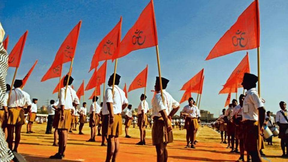 The RSS has set itself a goal of expanding its reach to all mandals [a cluster of two-three panchayats] in the country by 2024, according to the functionaries
