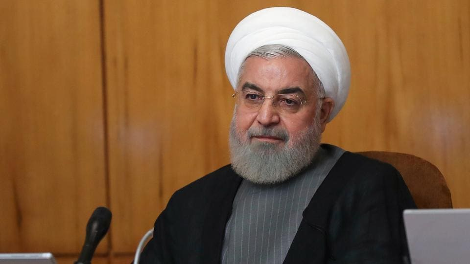 Iran is ready to hold talks with the United States if Washington lifts sanctions and returns to the 2015 nuclear deal it quit last year, Iranian President Hassan Rouhani said in a televised speech.