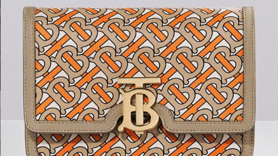Tisci's new monogram, based on the initials of the founder Thomas Burberry, is proving a hit with Chinese millennials.