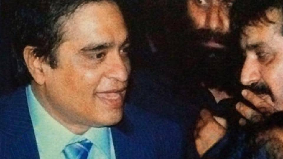 An undated photo provided by an official in an Indian security agency. Indian agencies believe that the person on the left is the new-look Dawood Ibrahim and on the right is Jabir Siddiq.