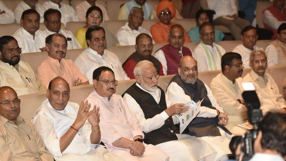 Parliament Live Updates: Narendra Modi, Amit Shah attend BJP parliamentary party meet   india news   Hindustan Times