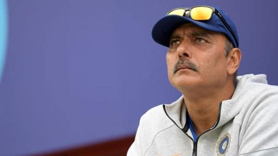 File photo of India's head coach Ravi Shastri.