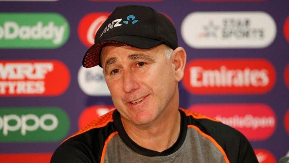 New Zealand head coach Gary Stead