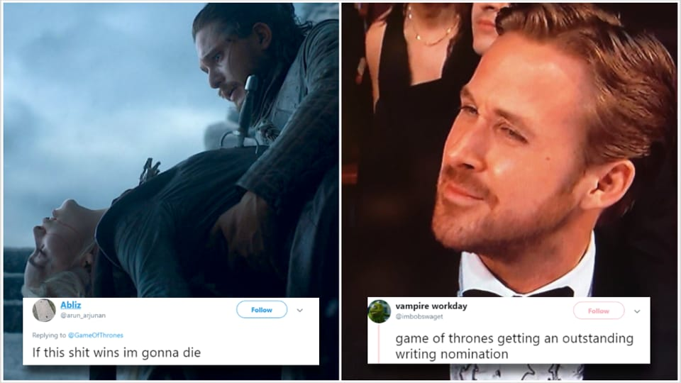 Game of Thrones gets 32 Emmy nominations for its worst season ever, fans say 'I'm gonna die it this sh*t wins'