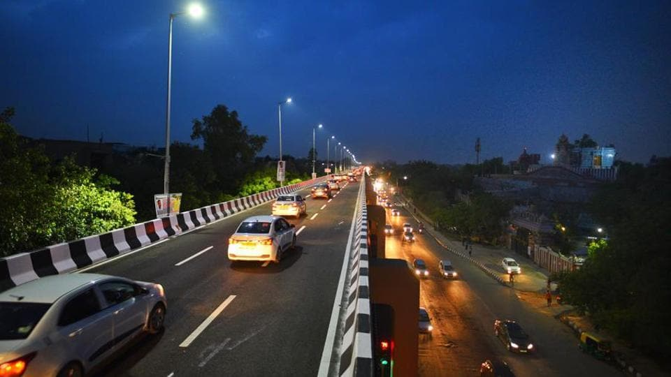 The construction of the flyover had begun in November 2014 and was to be completed within 2 years by 2016. It missed six deadlines before being inaugurated on Tuesday.